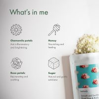 Smooth and Soothe Floral Face & Body Scrub